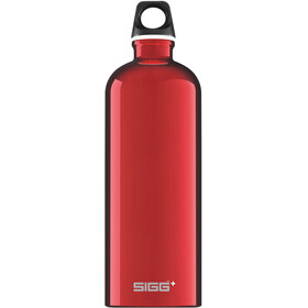 Sigg Traveller Alutrinkflasche 1l red